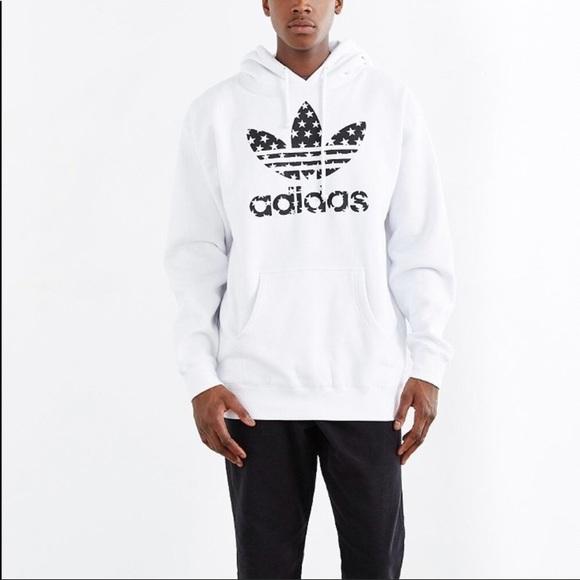 Adidas camicie quindi esclusiva trifoglio stellato felpa poshmark